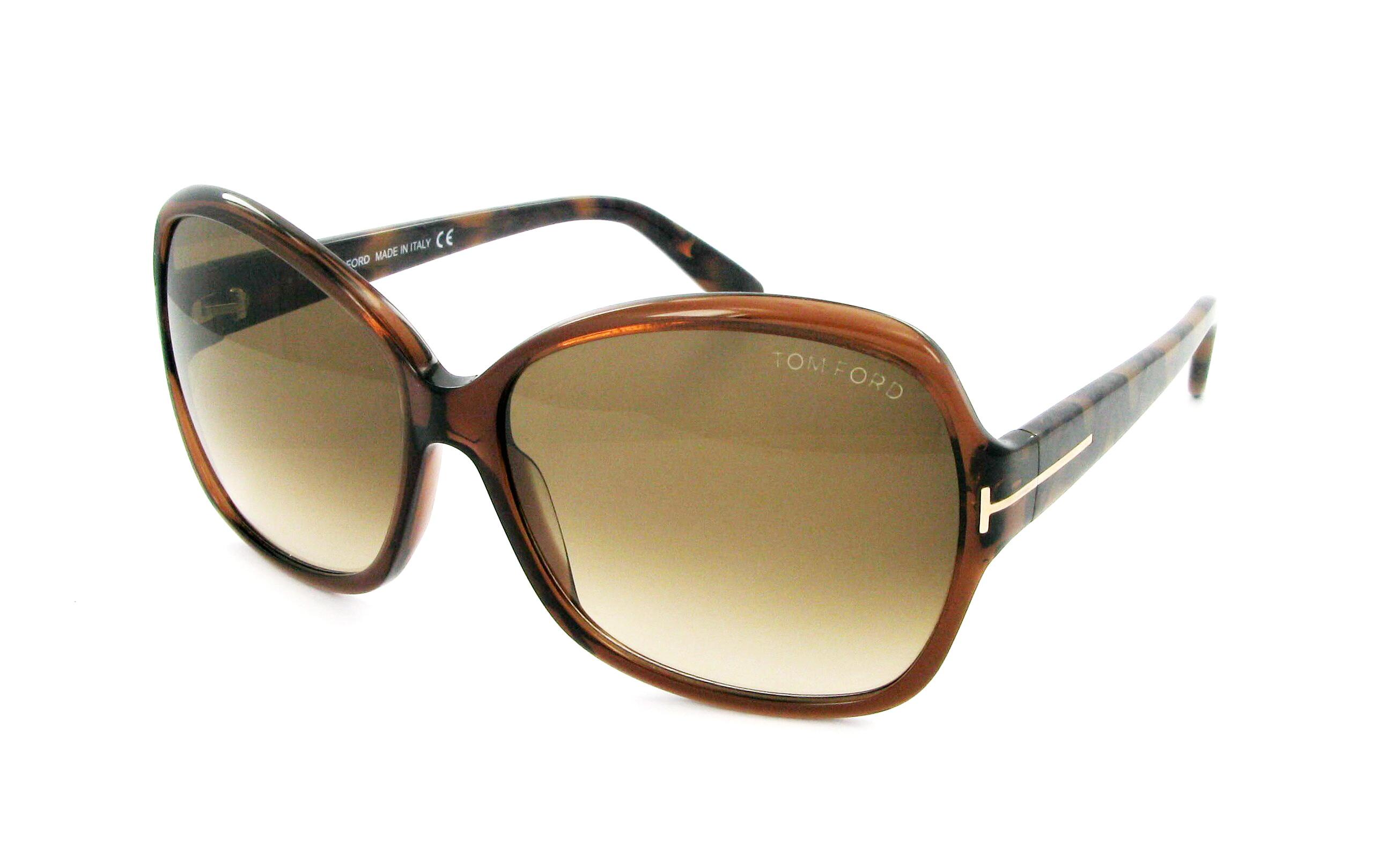 lunettes de soleil tom ford ft 0229 48f 60 14 femme marron carr e cercl e fashion 60mmx14mm 253. Black Bedroom Furniture Sets. Home Design Ideas