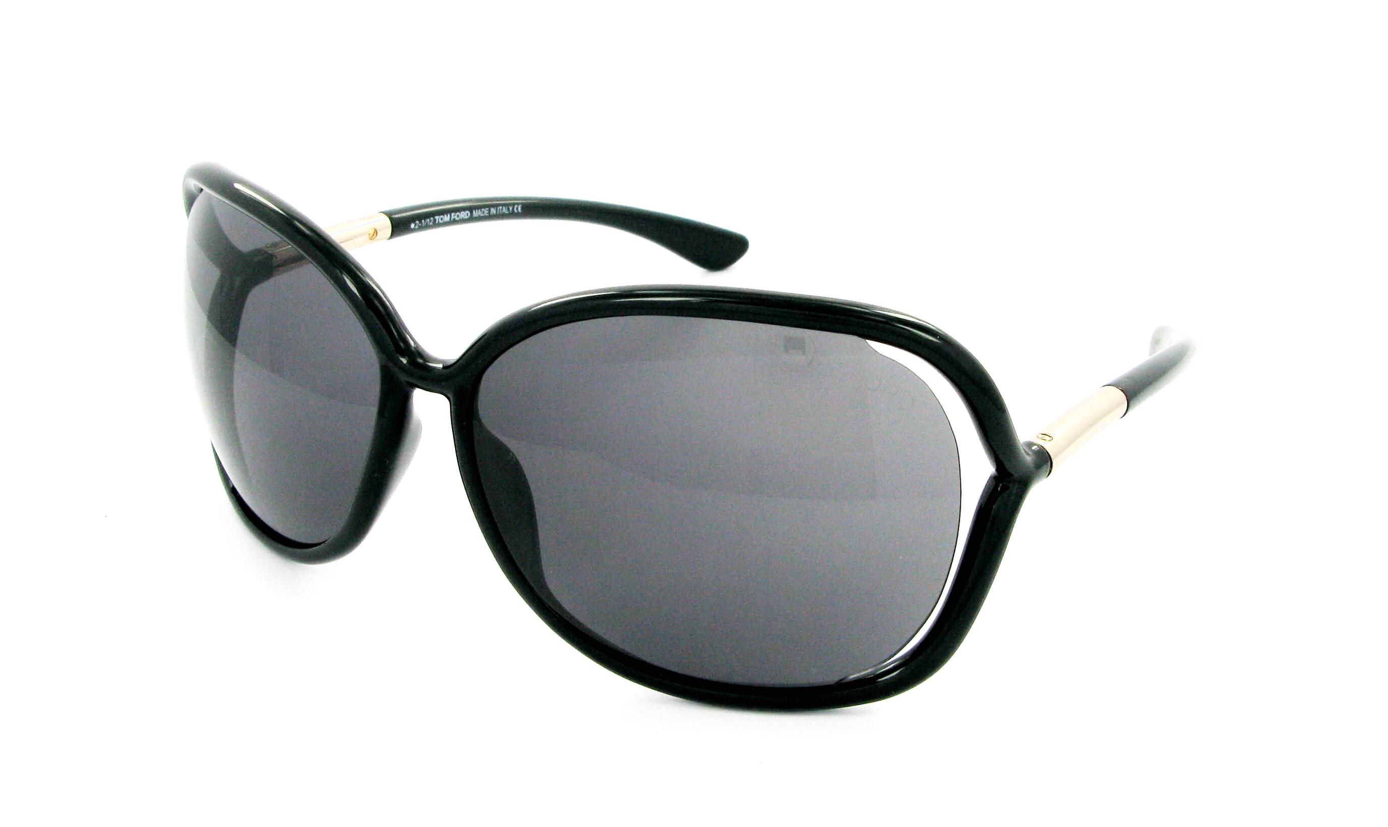lunettes de soleil tom ford ft 0076 0b5 63 14 femme noire ovale cercl e fashion 63mmx14mm 276. Black Bedroom Furniture Sets. Home Design Ideas