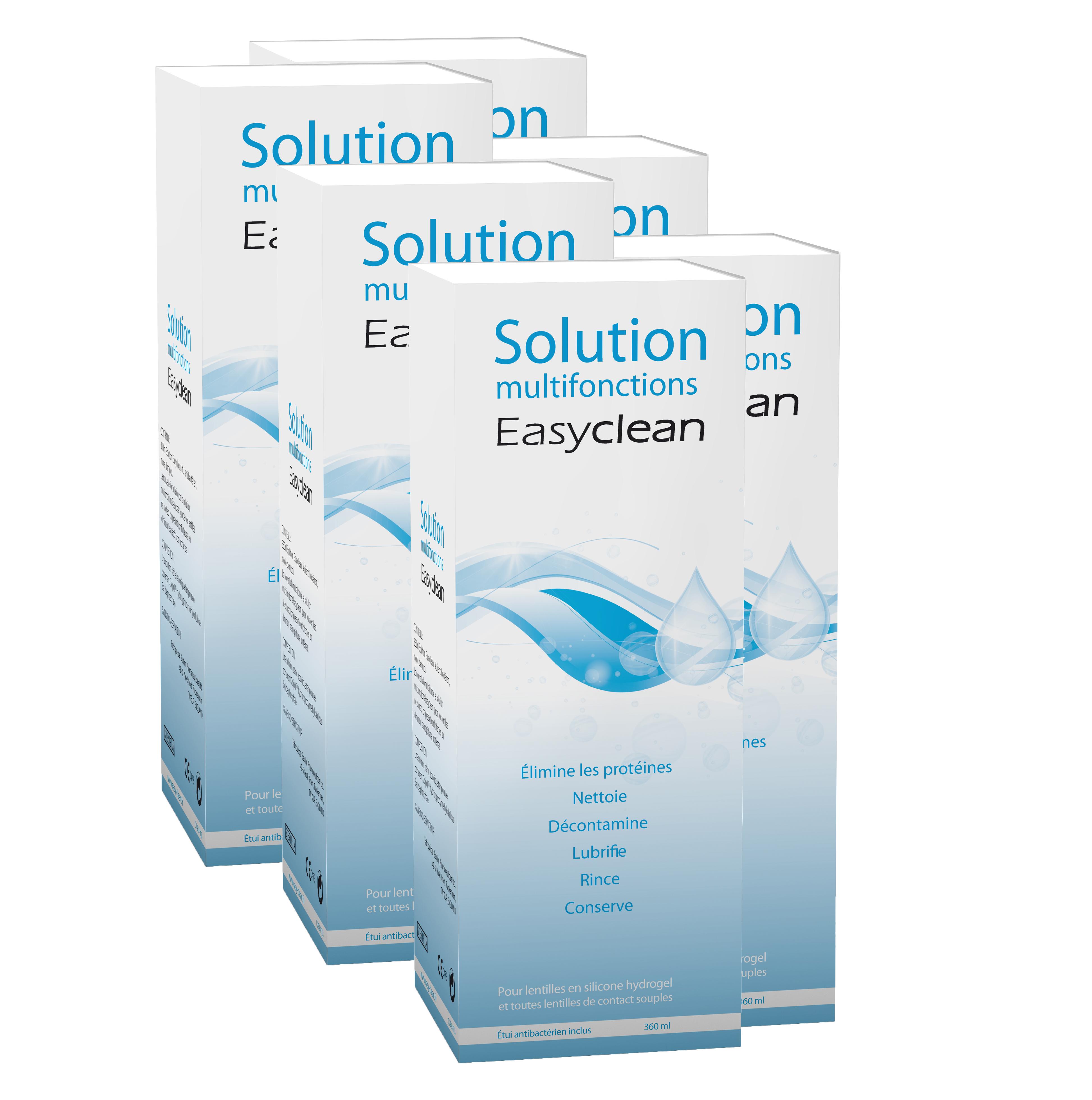EASYCLEAN Pack 12 Mois 6 x 360 ml
