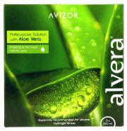 Contact lenses easy-care-solutions AVIZOR ALVERA Pack 3 x 350 ml