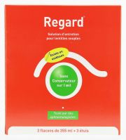 Kontaktlinsen Pflegemittel HORUS PHARMA REGARD Pack 3 x 355ml