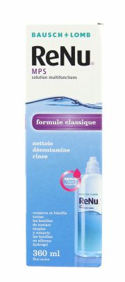 Contact lenses easy-care-solutions BAUSCH & LOMB RENU 360ml