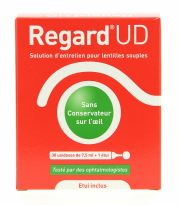 Contact lenses easy-care-solutions HORUS PHARMA REGARD UD 30 doses