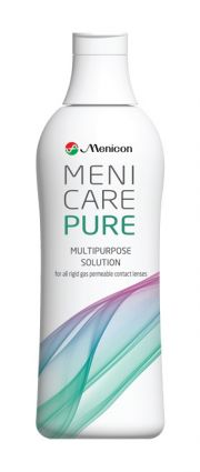 עדשות מגע תמיסות MENICON MENICARE PURE 250ml