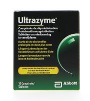 Contact lenses easy-care-solutions AMO ULTRAZYME 10 comprimes