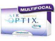 Lentilles de contact ALCON / CIBAVISION AIR OPTIX AQUA MULTIFOCALES