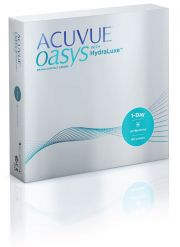 עדשות מגע JOHNSON & JOHNSON  ACUVUE OASYS 1 DAY 90